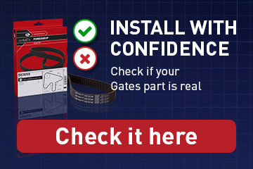 Check if your Gates part is real