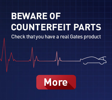 Gates protects timing belts against counterfeit