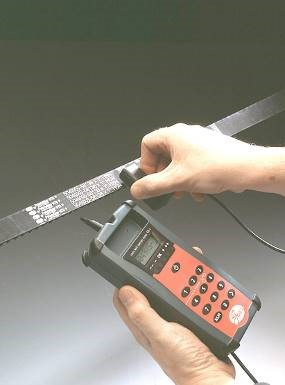 The correct use of sonic belt tension tester STT-1   Gates
