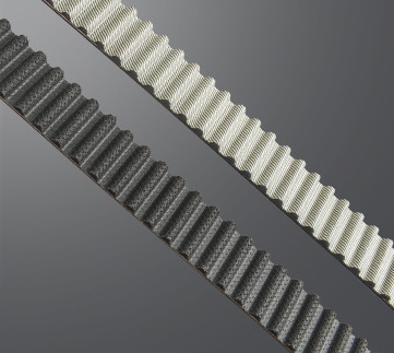 Black and white PTFE timing belt: the colour has no effect on the function